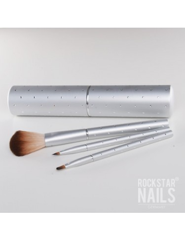 Brush Set silber