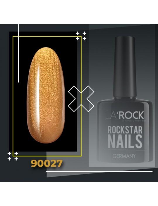 UV Gellack - glitter gold braun