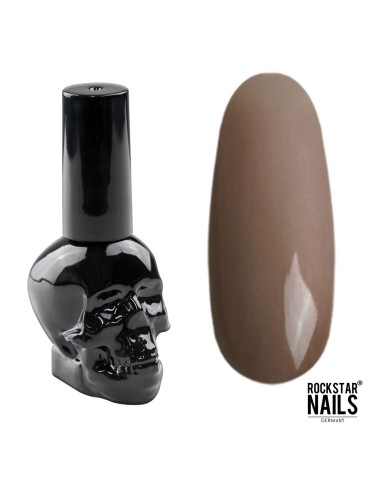UV Gellack - Dunkles Nude Braun