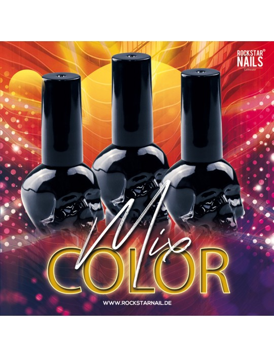 SKULL BLACK SET COLOR MIX