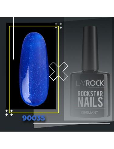 UV Gellack - glitter royal blau