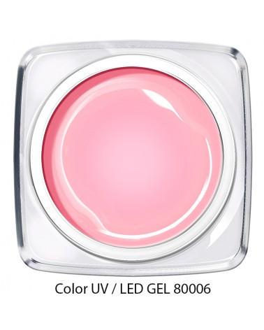 UV / LED Color Gel - puder rosa