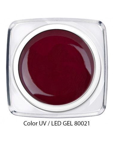 UV / LED Color Gel - wein rot