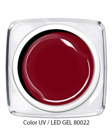 UV / LED Color Gel - kirsch rot
