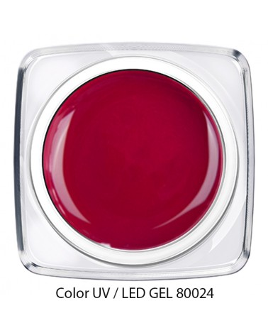 UV / LED Color Gel - himbeer rot