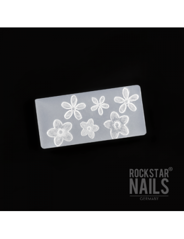 3D Nail Art Form - Blüte