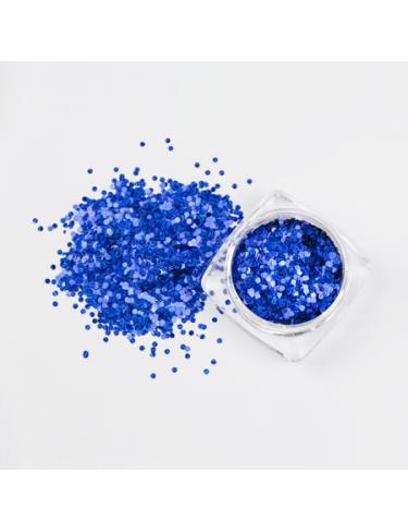 Konfetti blau